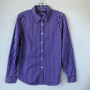 Lauren Ralph Lauren Button Front Shirt #44